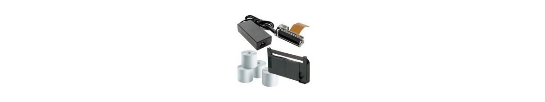 Accesorios y Consumibles para todas las marcas de cajas registradoras