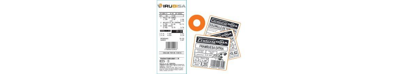 Balanza conercial con impresora de Etiquetas térmica valida tambien para Ticket