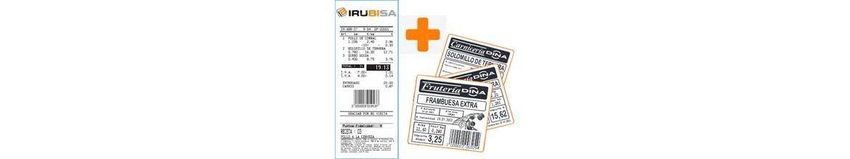 Balanza conercial con dos impresoras una para Ticket y otra para Etiquetas térmicas
